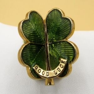 Rare Juicy Couture 3D Four Leaf Clover Charm